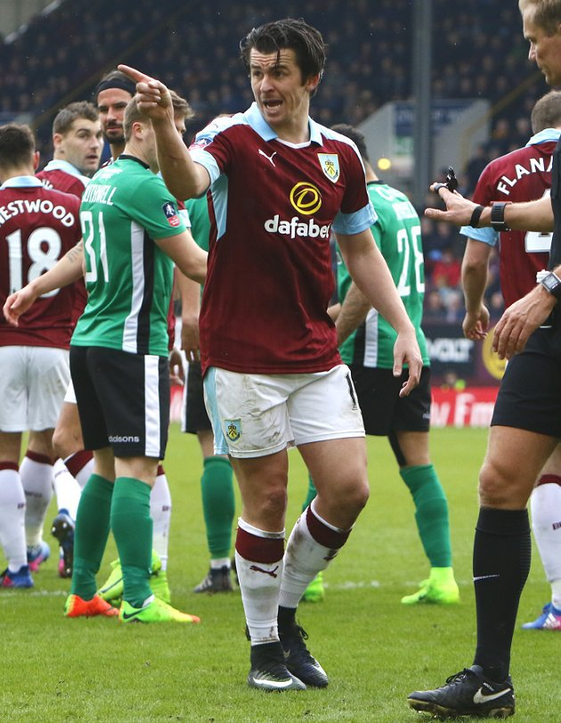 Joey Barton released by Burnley