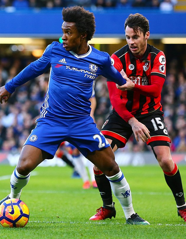 Chelsea midfielder Willian putting down London roots: I want British citizenship