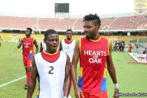 Hearts Anthony Nimo and Leonard Tawiah cleared for Liberty game
