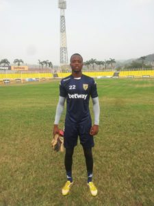 Ashgold goalkeeper George Apronti insists break without FA Cup will provide them time to reorganize