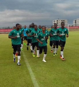 VIDEO: Black Starlets step up preparations ahead of AFCON U-17 opening match