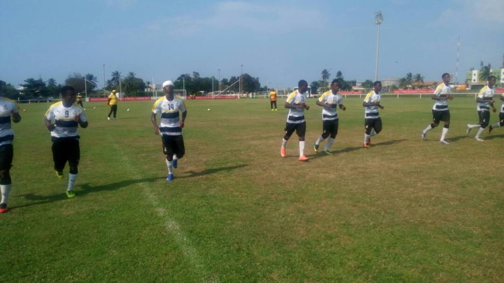 VIDEO: Black Starlets wrap up preparations ahead of semi-final clash with Niger