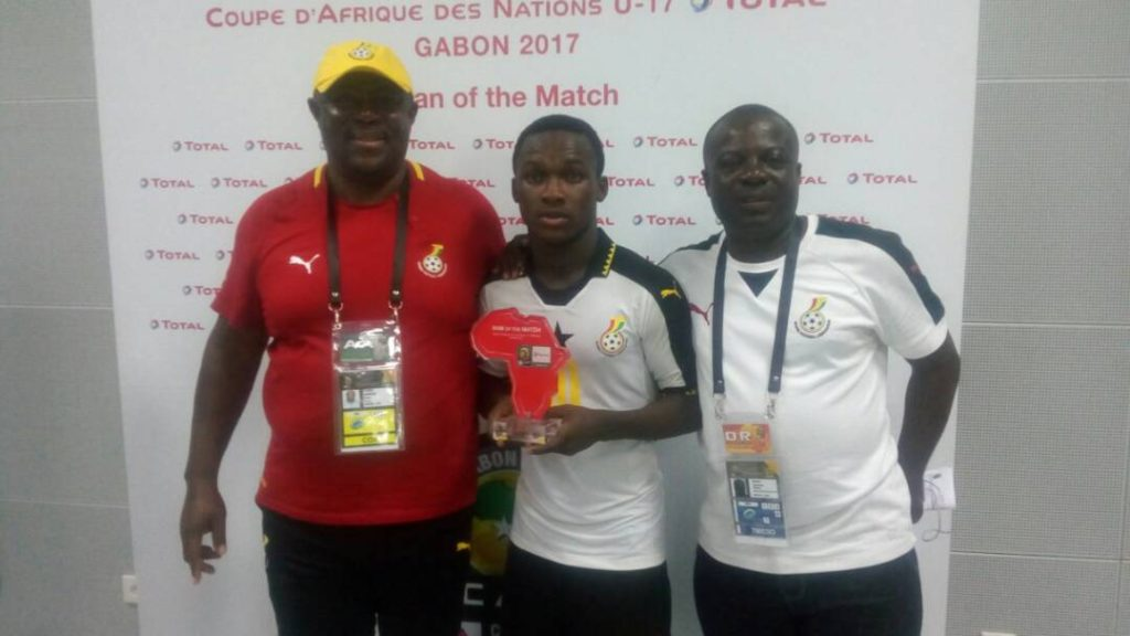 Ghana's Emmanuel Toku named man of the match against Niger