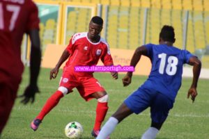 We had a better performance today- Inter Allies Striker Prince Baffoe