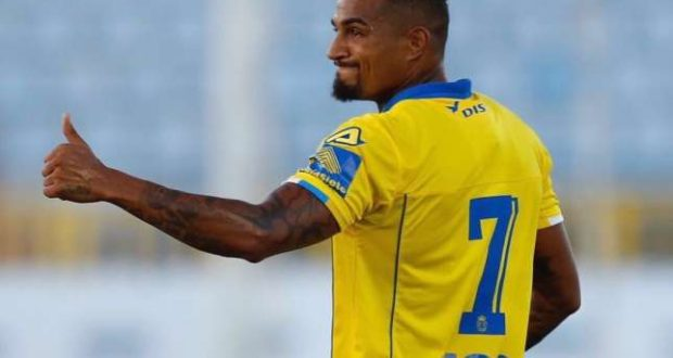 Kevin Prince Boateng  happy to emerge as Las Palmas top scorer