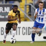 Black Stars new boy Thomas Agyepong powers NAC Breda to Promotion Playoff Summit