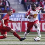 Gideon Baah returns to Red Bulls training despite being injured