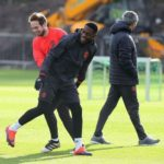 Timothy Fosu-Mensah back in training for Manchester United