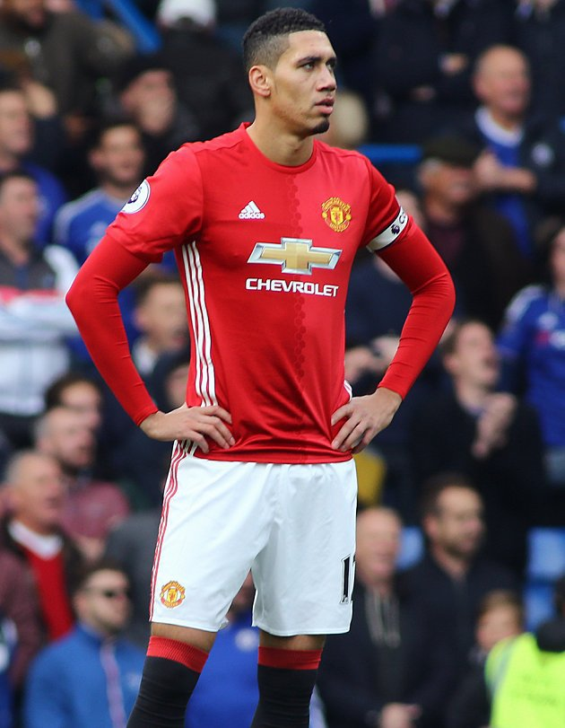 A new agent? Man Utd defender Smalling fuels exit rumours