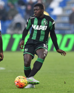 Torino to offer €10 million plus player for Sassuolo midfielder Alfred Duncan