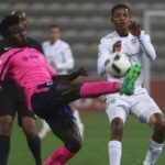 Ghanaian midfielder Mumuni Abubakakr scores for Black Leopards as they mount strong challenge for PSL qualification
