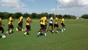 PHOTOS: Black Stars intensify training in Houston ahead of Mexico clash