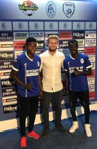 Ghanaian youngsters Oliver Amedor and Sameed Adams join Israeli side Hapoel Ramat