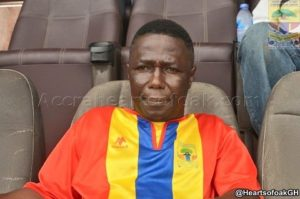 Referee Prince Amoah will not progress in life- Hearts Board Member Alhaji Akambi