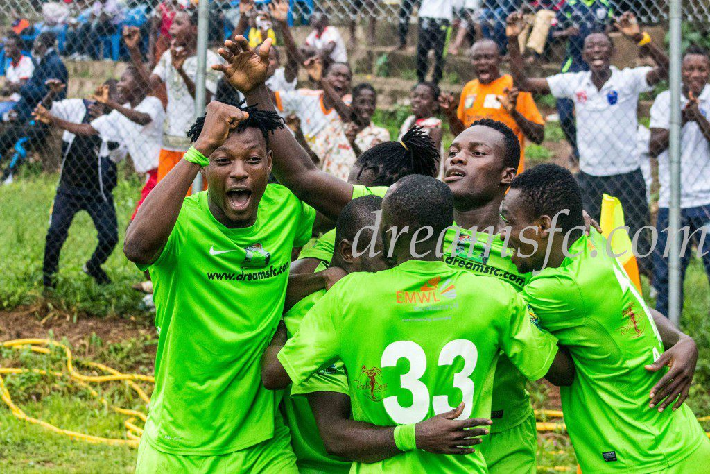 Dreams FC to play Inter Allies in a pre-season friendly on Sunday