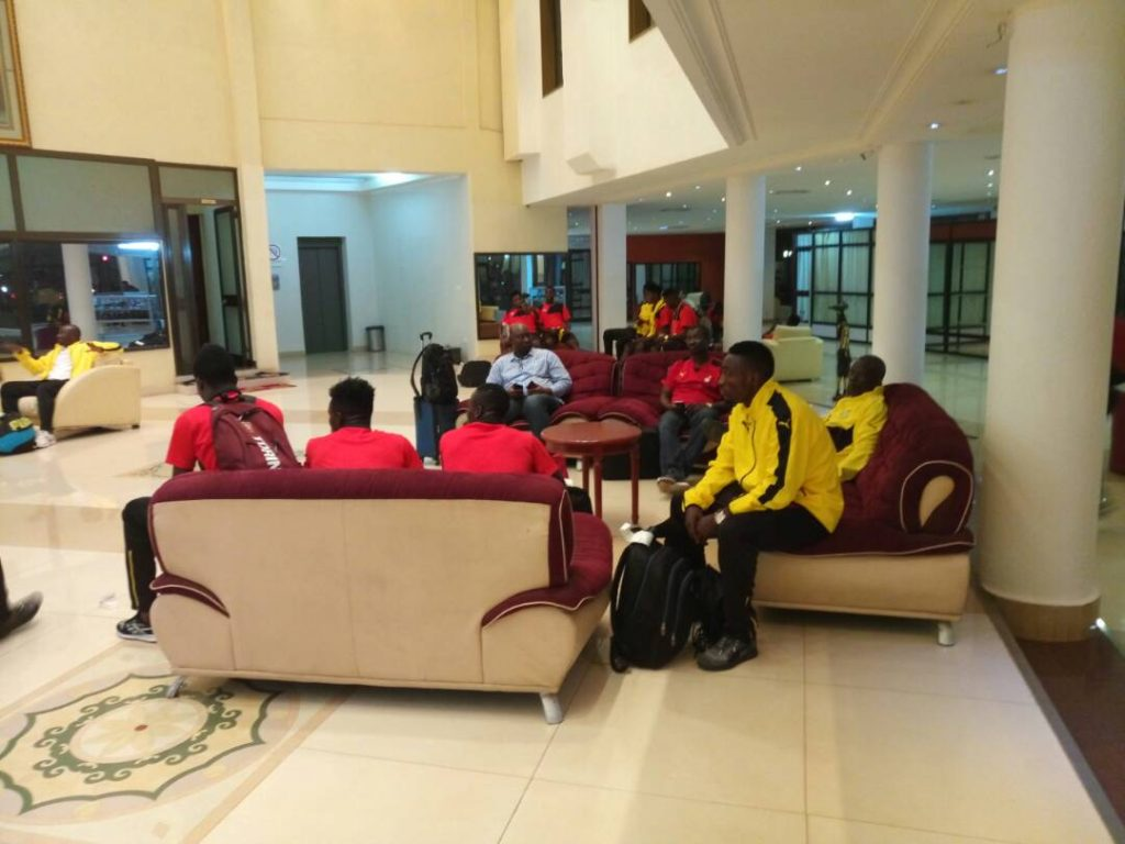 Photos: Black Stars B arrive in Ouagadougou ahead of Burkina Faso clash