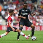 Jordan Ayew plays full throttle in Swansea stalemate with Southampton