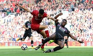 Ghanaian defenders Fosu-Mensah and Schullp featured as Crystal Palace lose to Liverpool