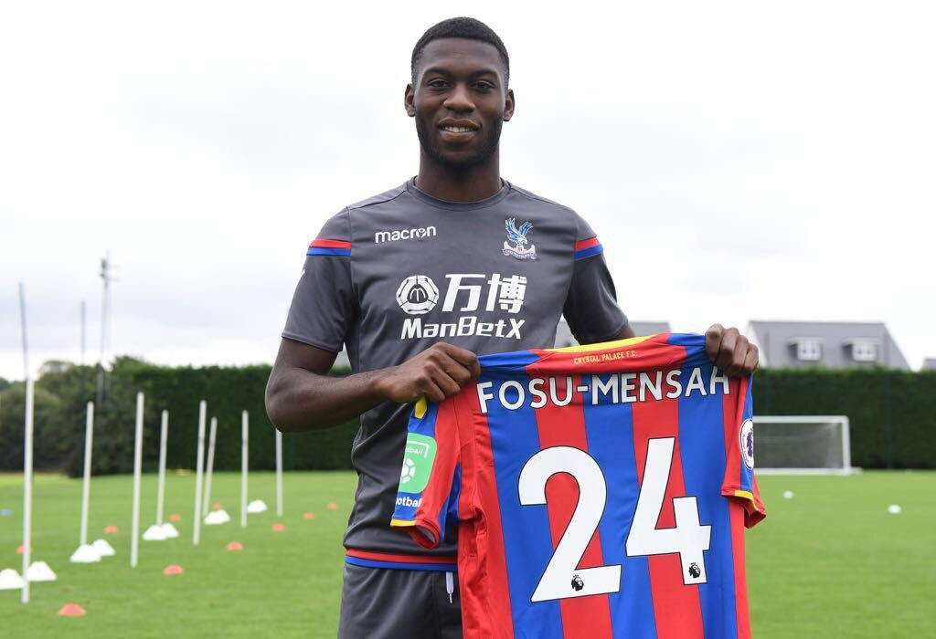 ​DONE DEAL: Crystal Palace complete loan move for Ghanaian defender Fosu-Mensah