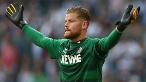 Koln Goalkeeper Timo Horn Reveals Why He Turned Down Liverpool Ahead of Arsenal Europa League Clash