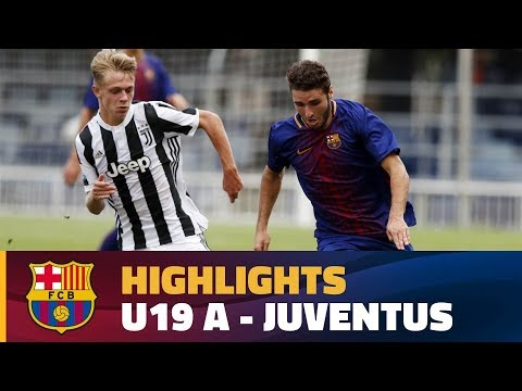 [HIGHLIGHTS] YOUTH LEAGUE: FC Barcelona – Juventus (1-0)