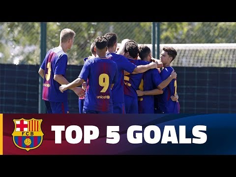 FCB Masia-Academy: Top goals 16-17 September