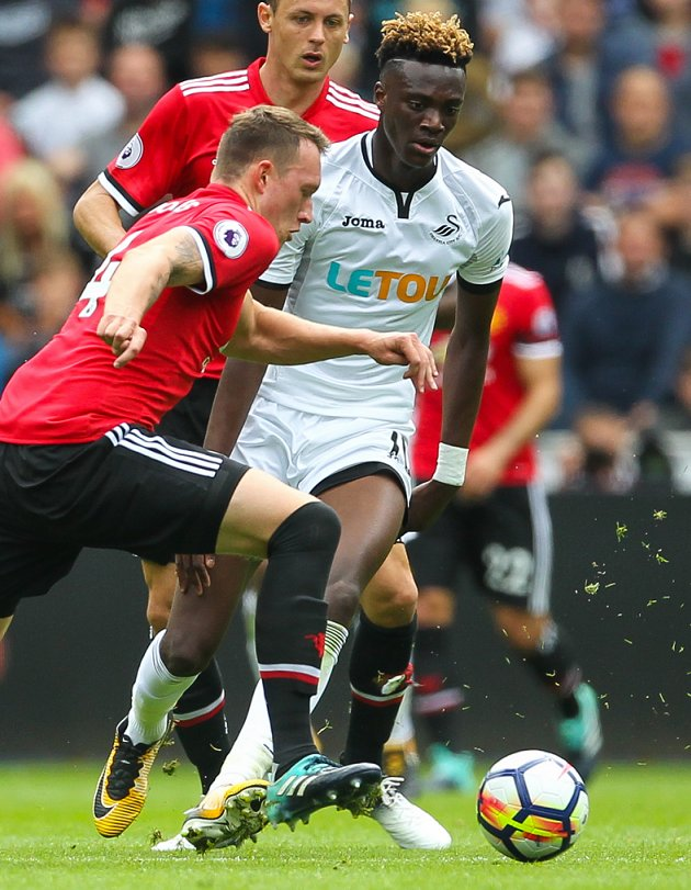 Swansea striker Abraham rejects Nigeria reports and commits to England