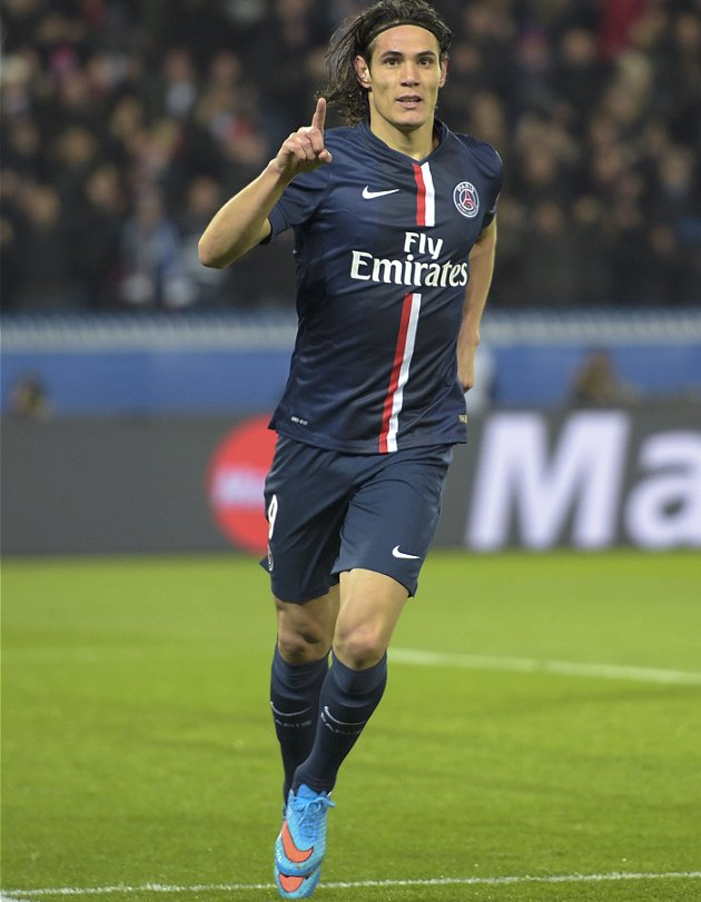 Chelsea, Real Madrid know what it'll take to sign PSG striker Cavani