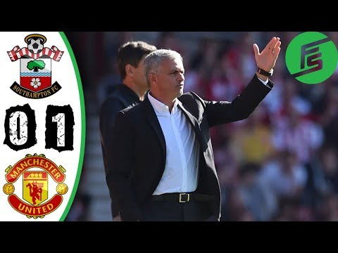 Southampton vs Manchester United 0-1 - Highlights & Goals - 23 September 2017