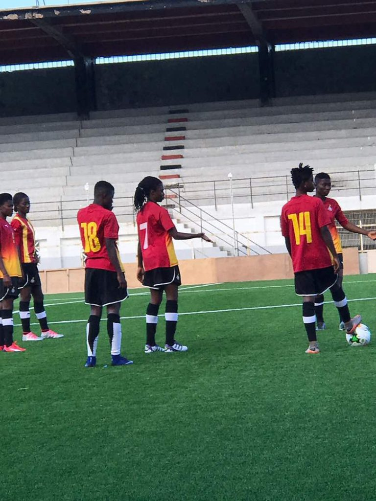 VIDEO: Black Princesses arrive in Algeria ahead of World Cup qualifier
