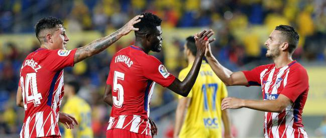 In-form midfielder Thomas Partey impresses as Athletico Madrid beat Sevilla
