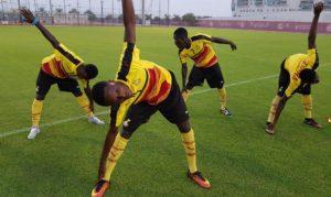 PHOTOS: Black Starlets begin training in Dubai ahead of FIFA U-17 World Cup