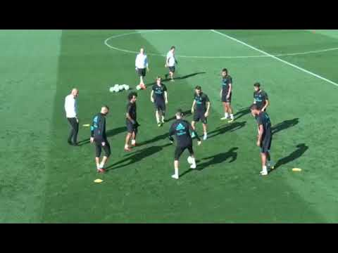 Ronaldo embarrasses Maroyal in training with epic skill