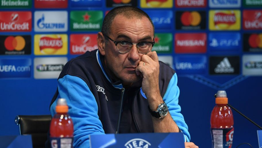 Napoli Boss Maurizio Sarri Claims He Avoids Watching Man City Games Because it's 'Depressing'