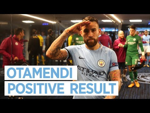 OTAMENDI'S REACTION TO WIN | Man City 2-1 Napoli | 2017/18