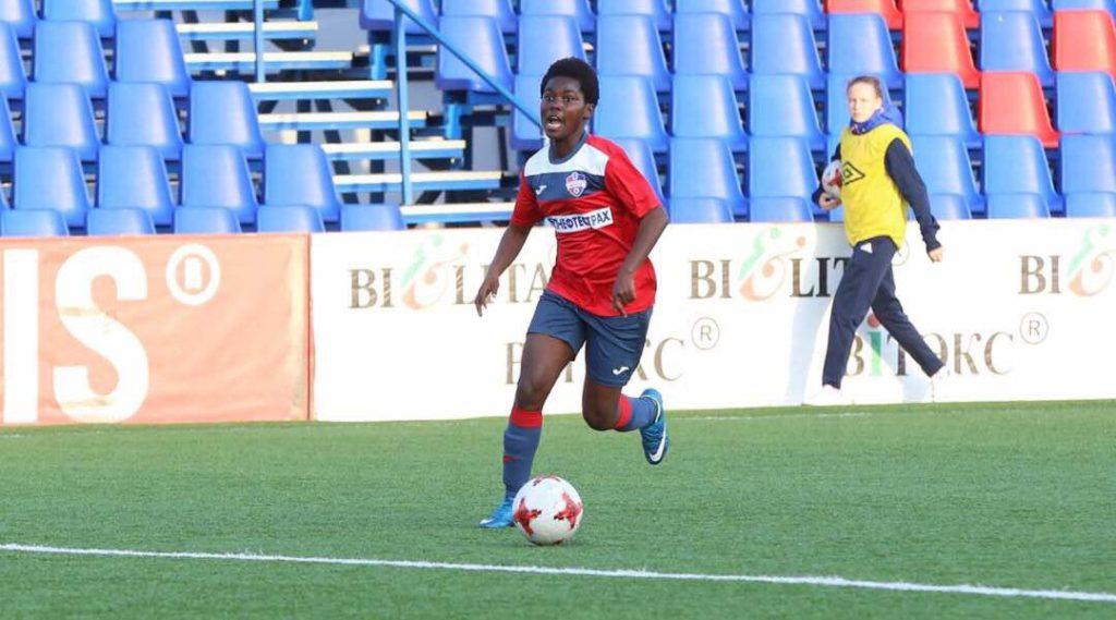 Black Queens duo Abambila and Ampah's Belarusian club fail to reach UEFA women's Champions league round 16