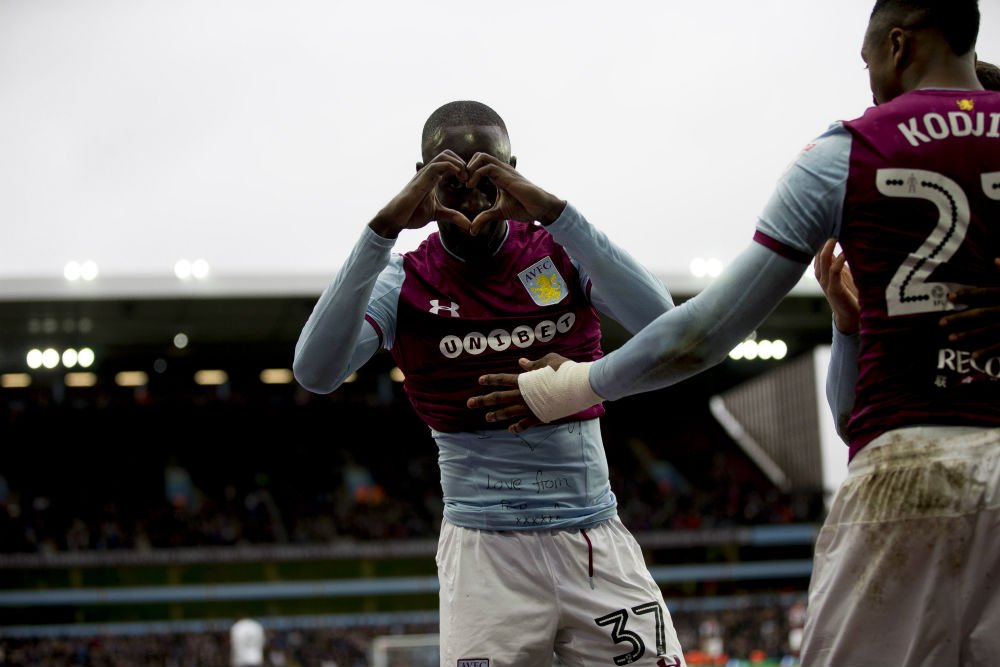Albert Adomah scores fifth goal of the season as Aston Villa beat Fulham