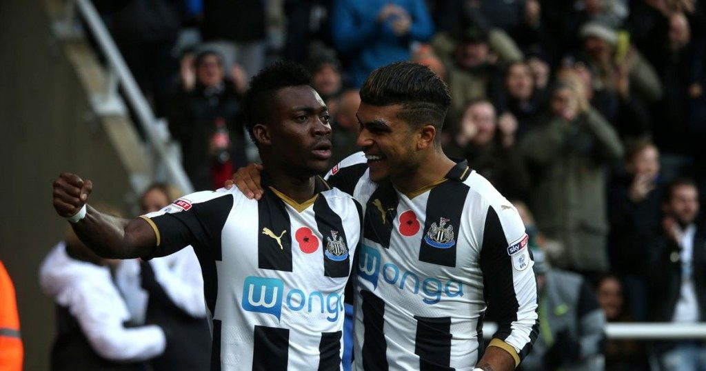 Christian Atsu's Newcastle United up for sale