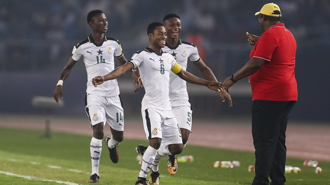 Black Starlets Captain Eric Ayiah hope Ghana will go all the way to the final of the world Cup
