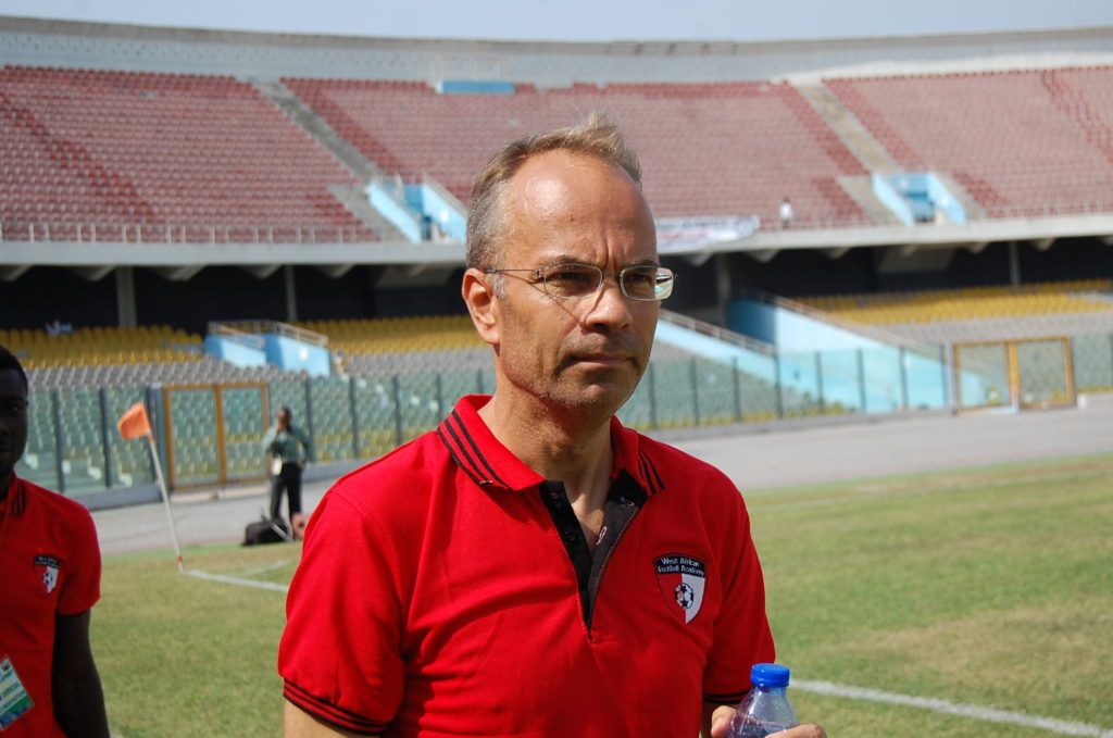WAFA Coach Klavs Rasmussen praises players despite defeat to Aduana