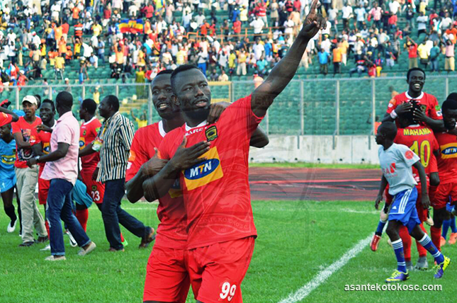 Kotoko striker Saddick Adams motivated by record against Hearts ahead of FA Cup final
