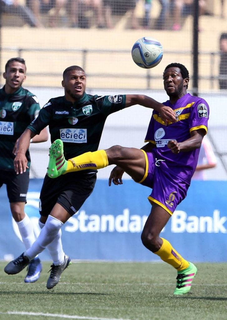 Medeama defender Amos Korankye happy with his form in this season's league