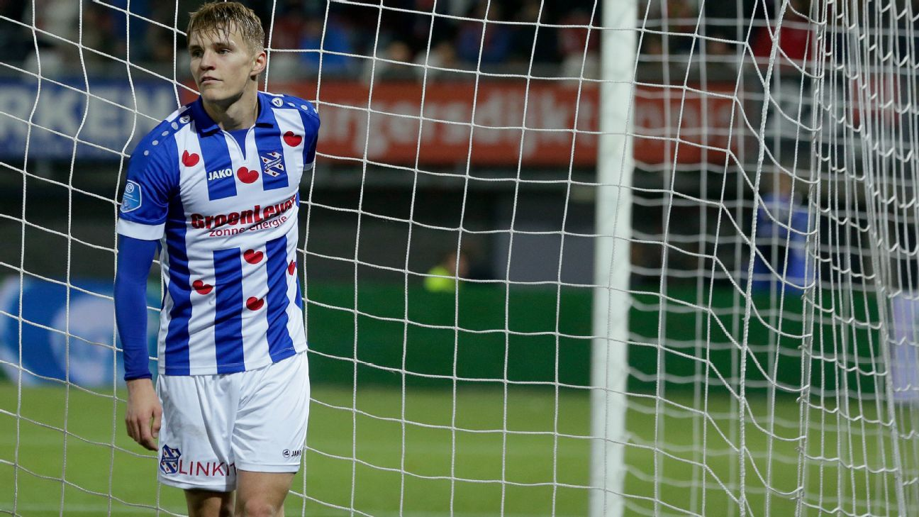 Martin Odegaard showing maturity, skill that hints at solid Madrid future