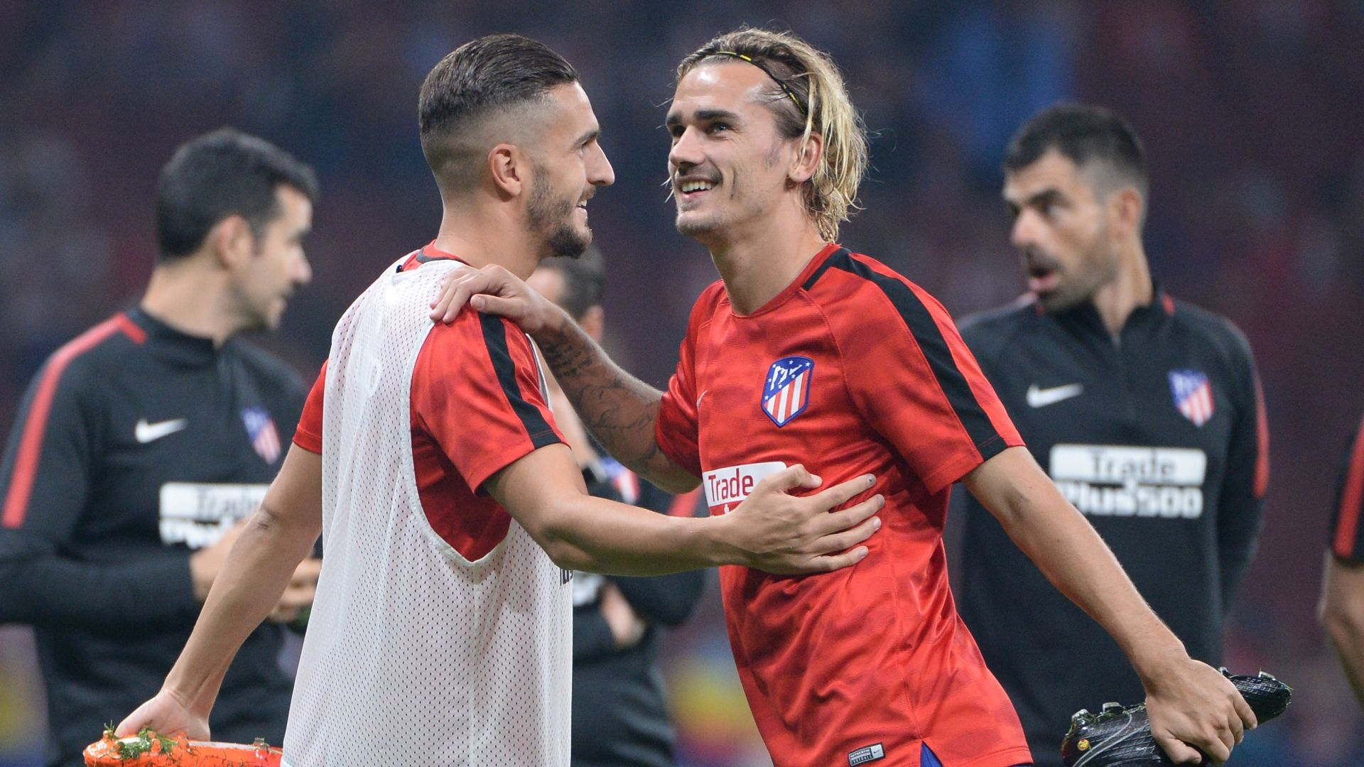 Antoine Griezmann happy at Atletico, but 'free to leave' if he wants - Koke