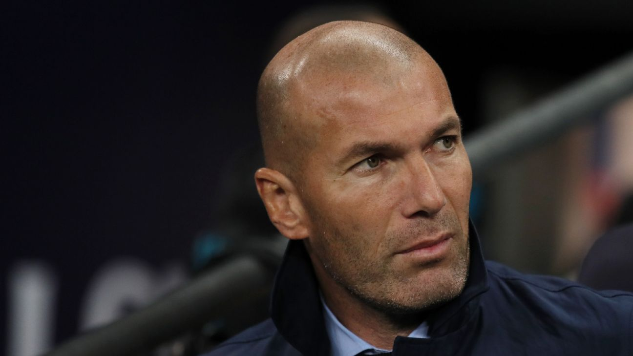 Zinedine Zidane plays down pressure on Real Madrid ahead of Atletico derby