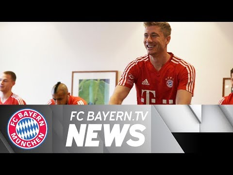 Bayern arrive in Gladbach