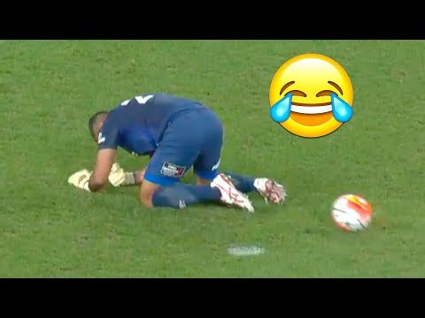 Extremly Funny Goalkeeper Mistakes in 2017 ● HD