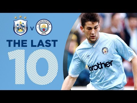 LAST 10: CITY 10-1 HUDDERSFIELD | 7th November 1987