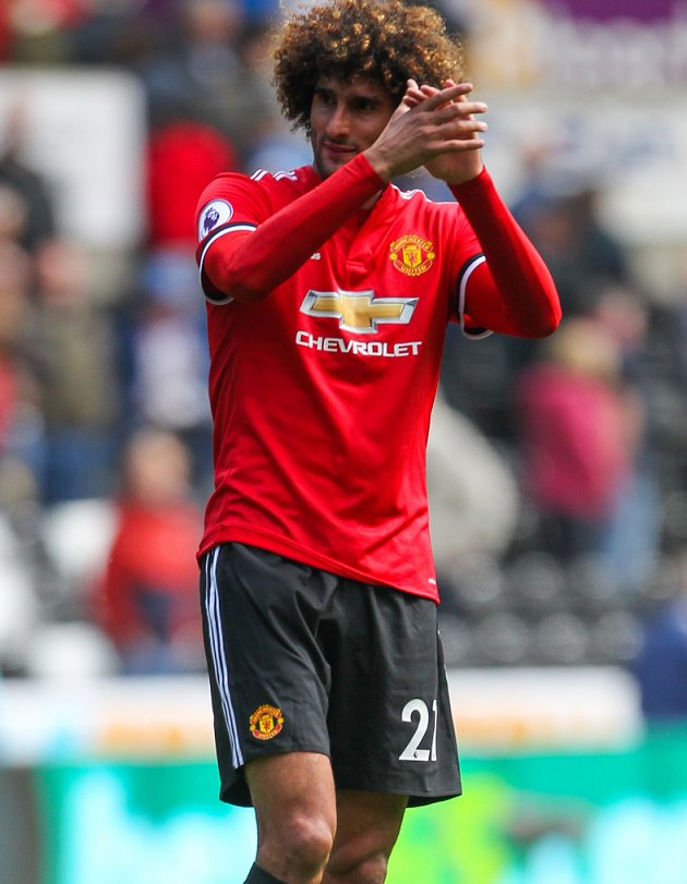 Man Utd boss Mourinho: Fellaini contract talks? I'm worried...
