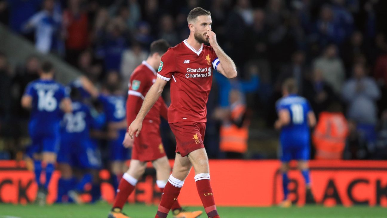 Jordan Henderson the scapegoat but Liverpool defensive issues run deeper